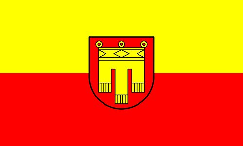 Unbekannt magFlags Tisch-Fahne/Tisch-Flagge: Herrenberg 15x25cm inkl. Tisch-Ständer