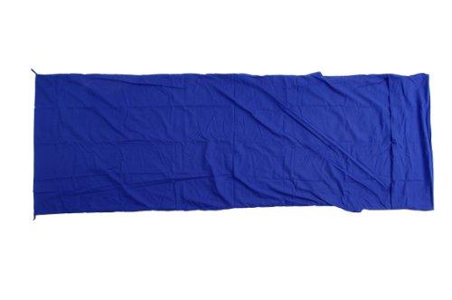 Basic Nature Unisexe Polycoton Couverture Forme coutil Taille Unique Bleu