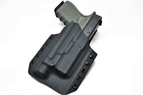 Light Bearing Holster for Glock 19 with Streamlight TLR-1 / TLR-1 HL   Light Bearing Holster for Glock 19 / 23 / 45 / 19X   Outside The Waistband Light Bearing Kydex Holster   OWB Holster