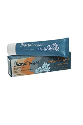 Diana Bright Hautaufhellende Creme mit UVA-/UVB-Schutz, 50 g, von Elyseestar, zum Aufhellen von schwarzen, asiatischen, somalischen, arabischen Hauttönen
