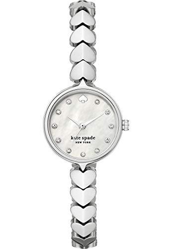KATE SPADE hollis cuori in acciaio inossidabile in tono argento per orologio da donna KSW1590