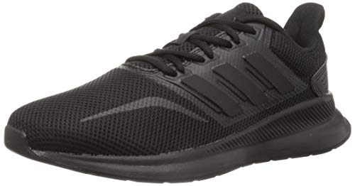 adidas Runfalcon, Running Shoe Hombre, Core Black/Core Black/Core Black, 44 EU