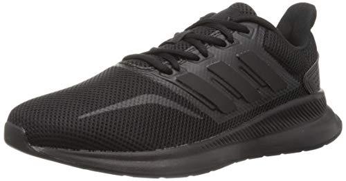 adidas Herren Runfalcon Laufschuhe, Schwarz (Negbás/Negbás/Negbás 000), 46 EU