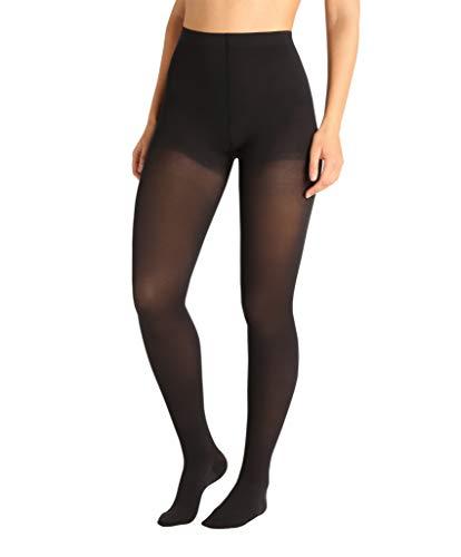 ®BeFit24 Panty de Compresión (23-32 mmHg, 120 Denieres, Clase 2) para Mujer - Pantimedias Compresion para Varices, Embarazo y Circulación - Medias Compresivas [ Size 5 - Short: A - Negro ]
