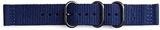 Samsung Electronics GP-R600BREECAB Galaxy Watch Gear Sport Premium NATO Band (20mm) - Navy Blue