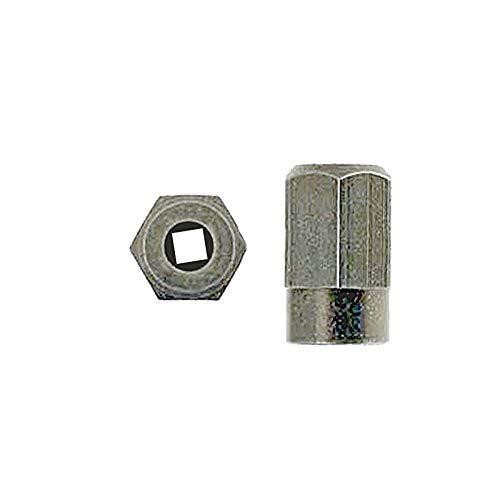 Silverline 2610916116 / 225 - Tuerca para conectar al eje flexible de la herramienta rotatoria Dremel