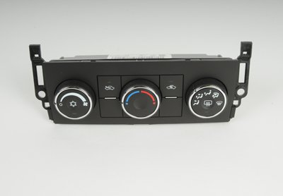 ACDelco 15-74187 GM Original Equipment Heating and Air Conditioning Control Panel with Rear Window Defogger Switch