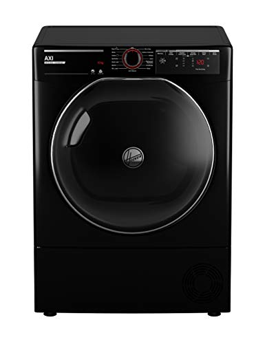 Hoover AXI ATD C10TKEBX-80 Condenser Tumble Dryer with NFC and Wi-Fi, 10kg Load, B Energy Rating, Blac, Black
