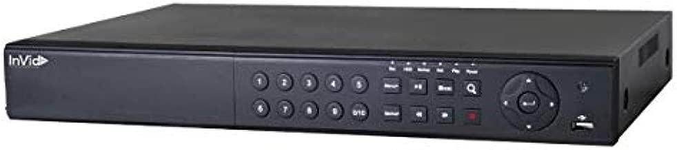INVID TECH PD1A-16/2TB, 16 Channel TVI/AHD/CVI/Analog/IP Universal Port Digital Video Recorder, 2TB
