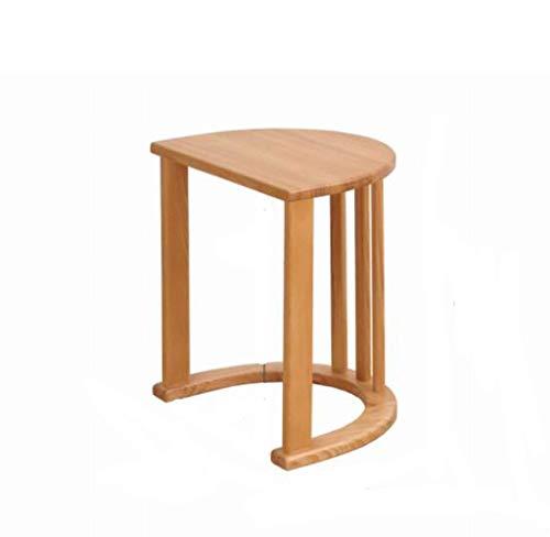 HYY-YY Solid Wood Sofa Coffee Table Modern Minimalist Mini Living Room Nordic Table Bedside Table