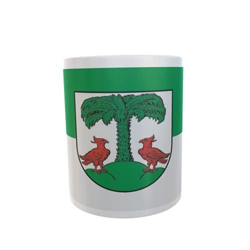 U24 Tasse Kaffeebecher Mug Cup Flagge Bitterfeld-Wolfen OT Holzweissig