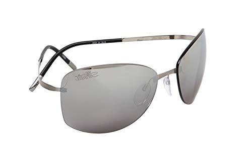 silhouette occhiali Silhouette Occhiali da Sole TITAN PURE 8149 Ruthenium/Grey taglia unica uomo