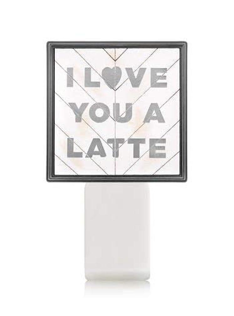 調子栄光の縁石【Bath&Body Works/バス&ボディワークス】 ルームフレグランス プラグインスターター (本体のみ) アイラブユー Wallflowers Fragrance Plug I Love You a Latte [並行輸入品]