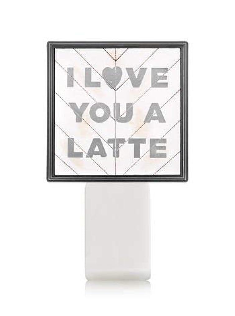 信念温度留め金【Bath&Body Works/バス&ボディワークス】 ルームフレグランス プラグインスターター (本体のみ) アイラブユー Wallflowers Fragrance Plug I Love You a Latte [並行輸入品]