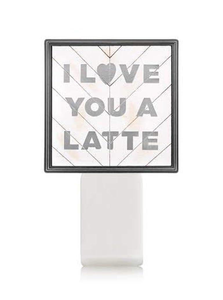 シャット悪の第九【Bath&Body Works/バス&ボディワークス】 ルームフレグランス プラグインスターター (本体のみ) アイラブユー Wallflowers Fragrance Plug I Love You a Latte [並行輸入品]