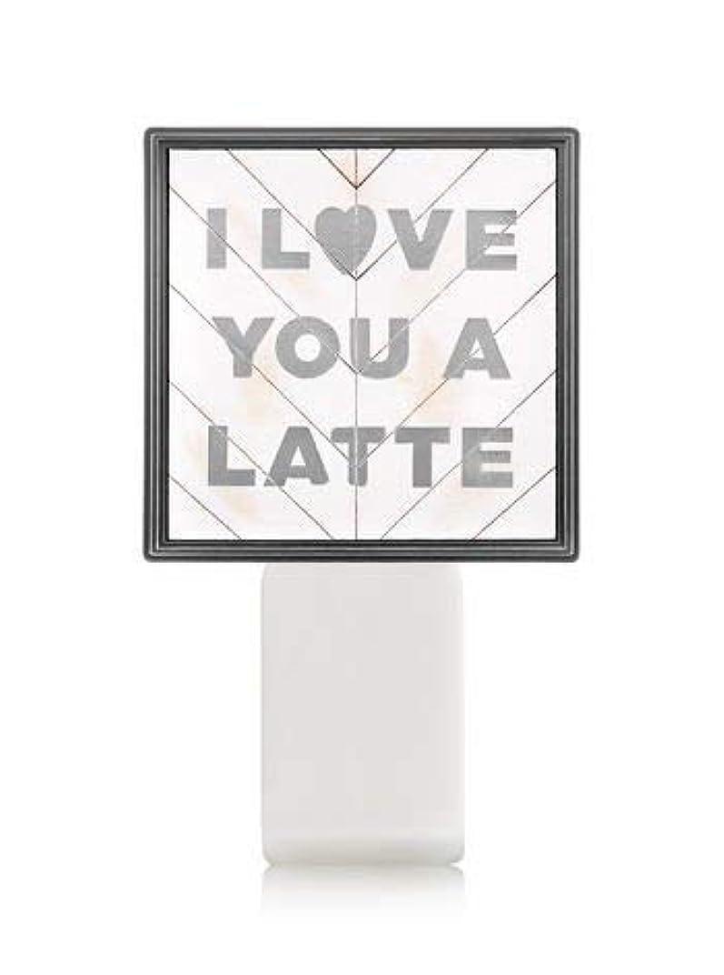 東性格工業化する【Bath&Body Works/バス&ボディワークス】 ルームフレグランス プラグインスターター (本体のみ) アイラブユー Wallflowers Fragrance Plug I Love You a Latte [並行輸入品]