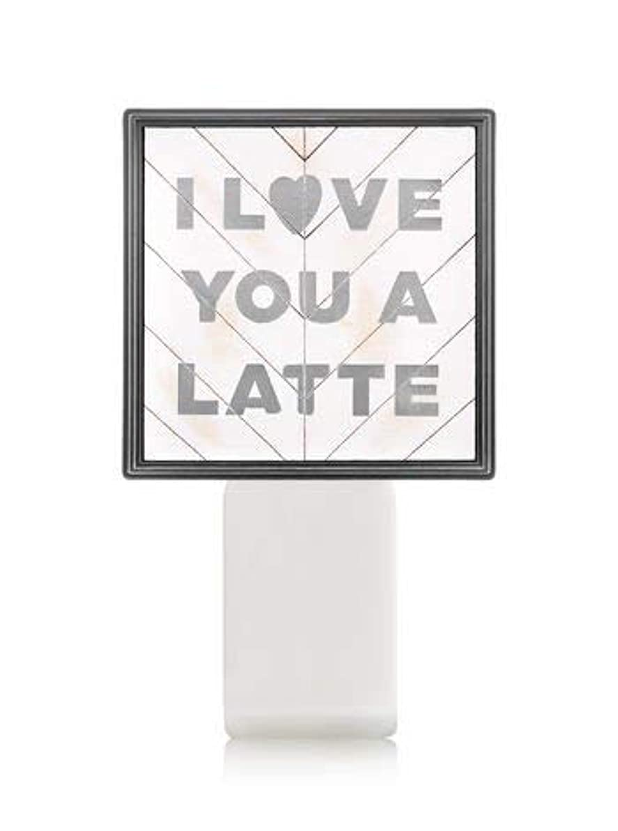 劇作家オセアニアすでに【Bath&Body Works/バス&ボディワークス】 ルームフレグランス プラグインスターター (本体のみ) アイラブユー Wallflowers Fragrance Plug I Love You a Latte [並行輸入品]
