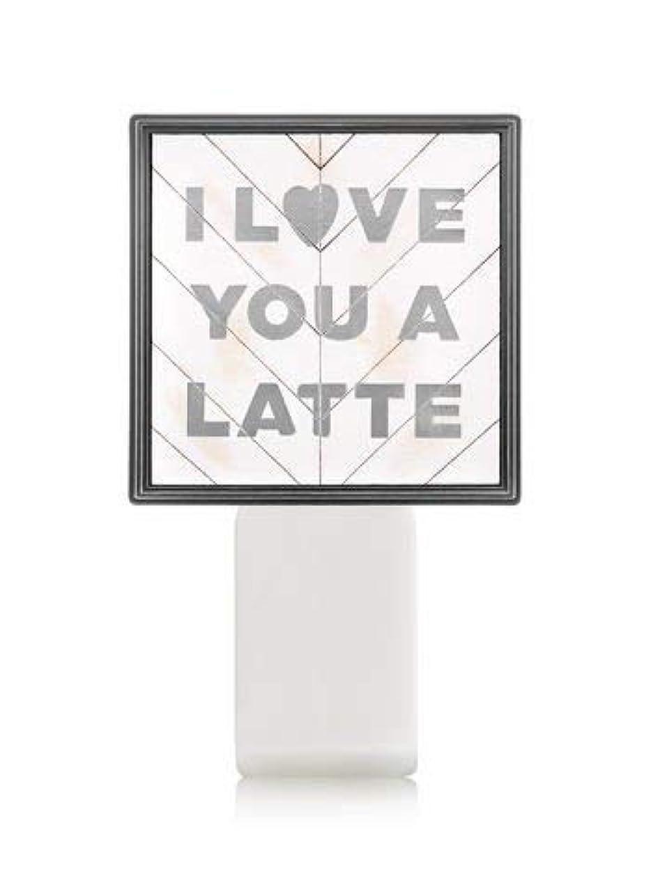屋内で許容ディレクター【Bath&Body Works/バス&ボディワークス】 ルームフレグランス プラグインスターター (本体のみ) アイラブユー Wallflowers Fragrance Plug I Love You a Latte [並行輸入品]
