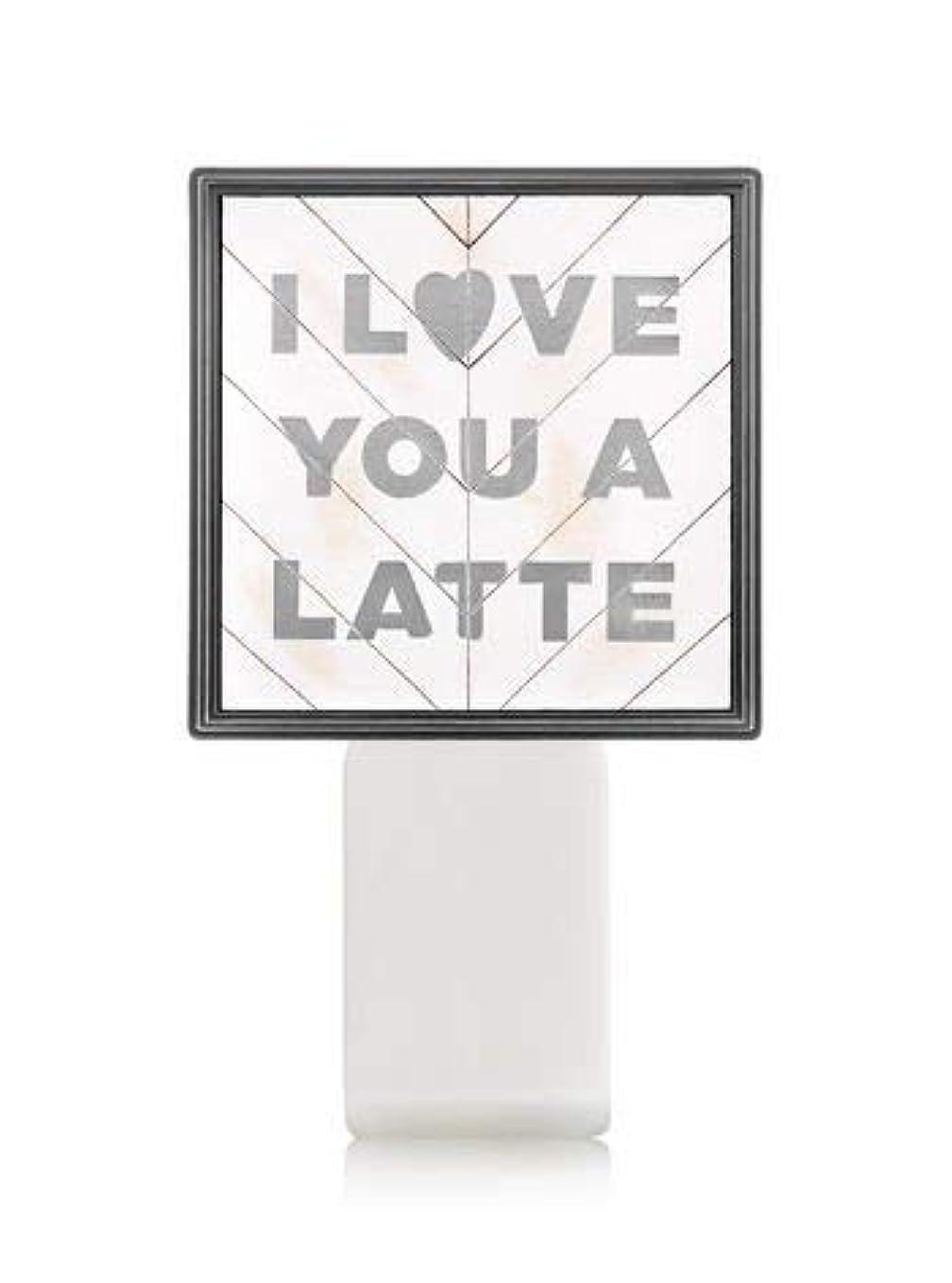 洞察力調停するトンネル【Bath&Body Works/バス&ボディワークス】 ルームフレグランス プラグインスターター (本体のみ) アイラブユー Wallflowers Fragrance Plug I Love You a Latte [並行輸入品]