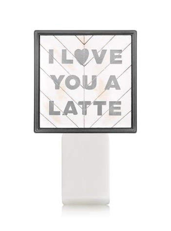 額酔って活気づける【Bath&Body Works/バス&ボディワークス】 ルームフレグランス プラグインスターター (本体のみ) アイラブユー Wallflowers Fragrance Plug I Love You a Latte [並行輸入品]