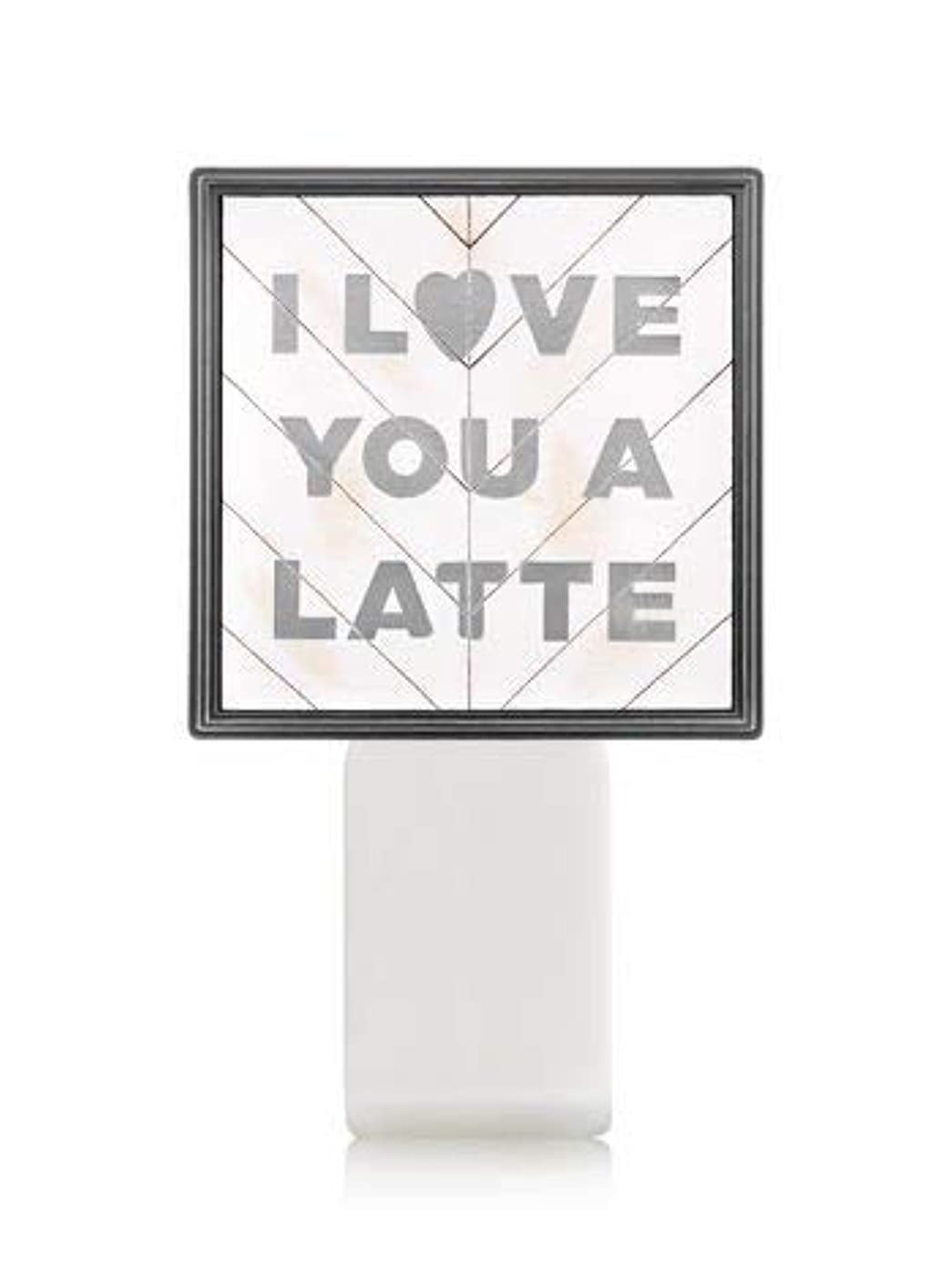 分離ほのかハーブ【Bath&Body Works/バス&ボディワークス】 ルームフレグランス プラグインスターター (本体のみ) アイラブユー Wallflowers Fragrance Plug I Love You a Latte [並行輸入品]