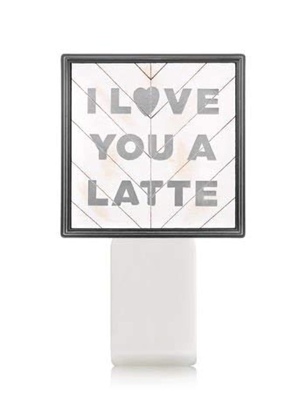 作物発疹有望【Bath&Body Works/バス&ボディワークス】 ルームフレグランス プラグインスターター (本体のみ) アイラブユー Wallflowers Fragrance Plug I Love You a Latte [並行輸入品]