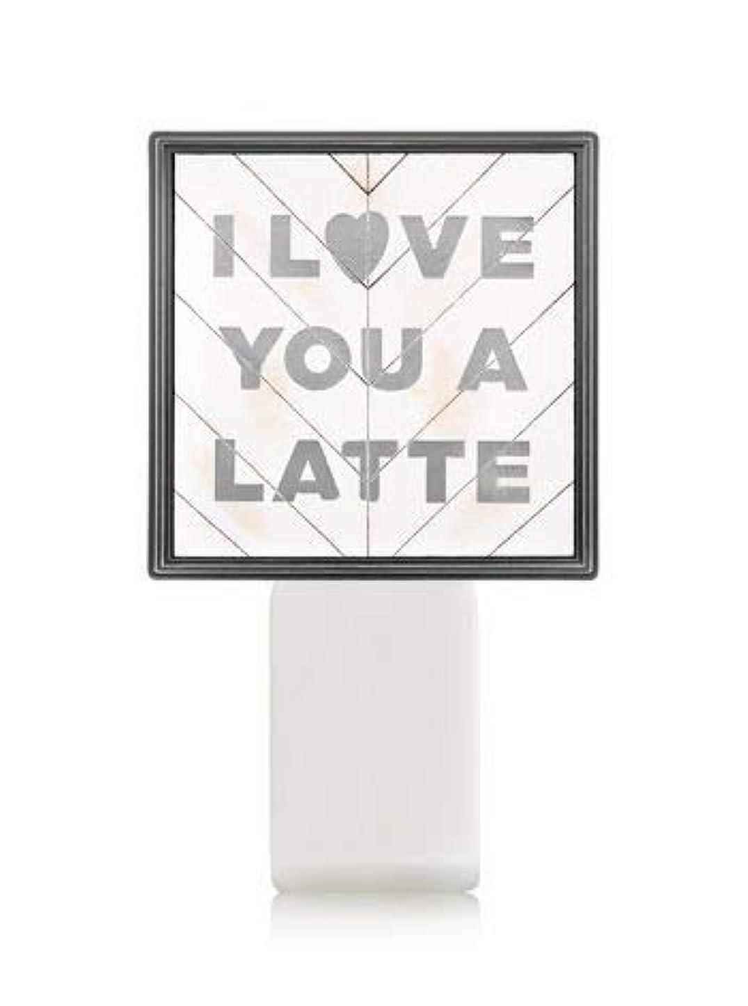 アラバマ大理石マークされた【Bath&Body Works/バス&ボディワークス】 ルームフレグランス プラグインスターター (本体のみ) アイラブユー Wallflowers Fragrance Plug I Love You a Latte [並行輸入品]