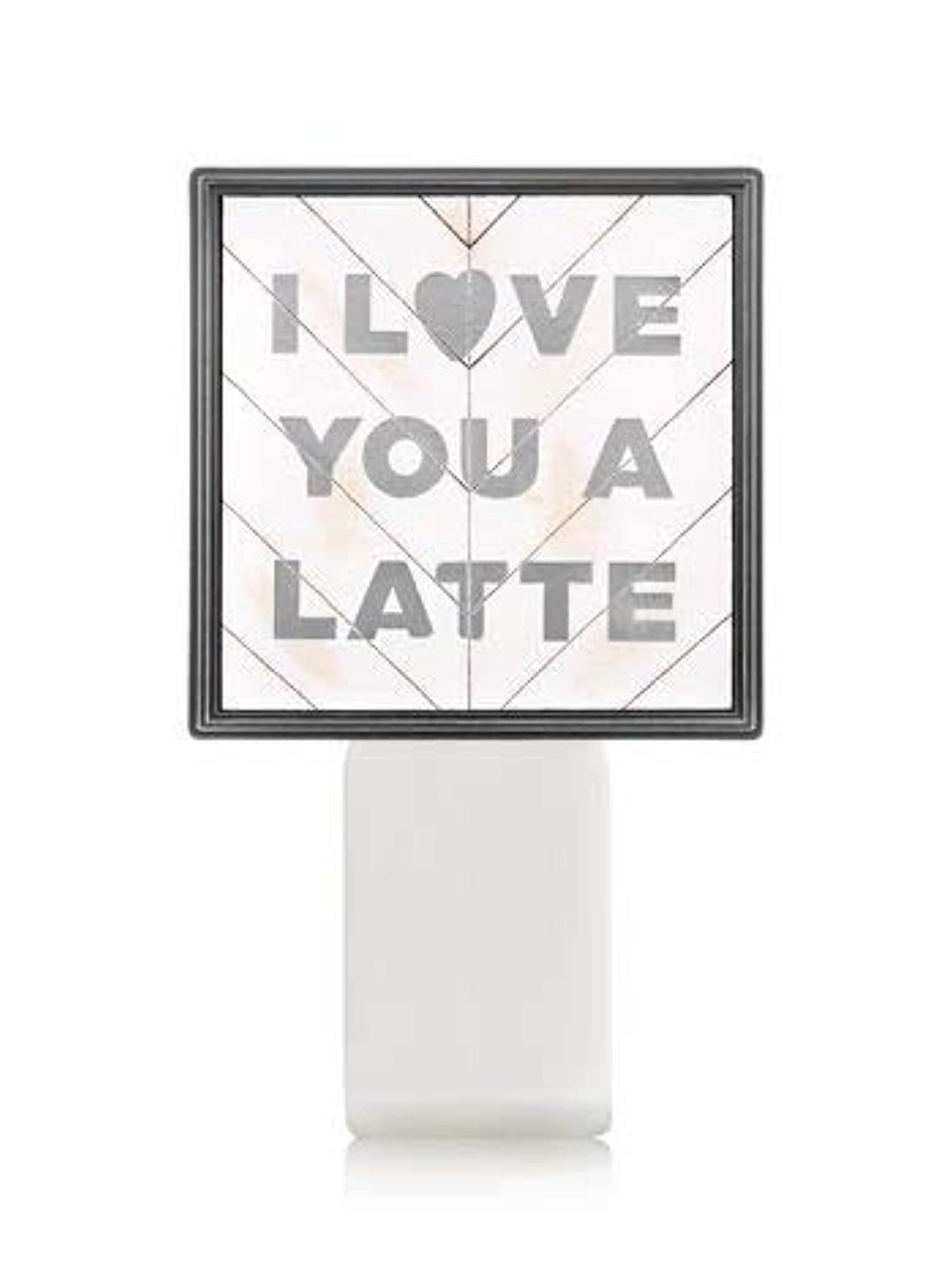 引っ張る信頼性のあるダルセット【Bath&Body Works/バス&ボディワークス】 ルームフレグランス プラグインスターター (本体のみ) アイラブユー Wallflowers Fragrance Plug I Love You a Latte [並行輸入品]