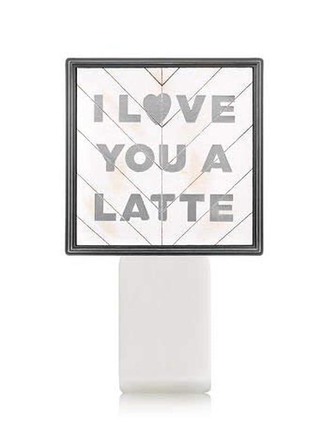 句世界合わせて【Bath&Body Works/バス&ボディワークス】 ルームフレグランス プラグインスターター (本体のみ) アイラブユー Wallflowers Fragrance Plug I Love You a Latte [並行輸入品]