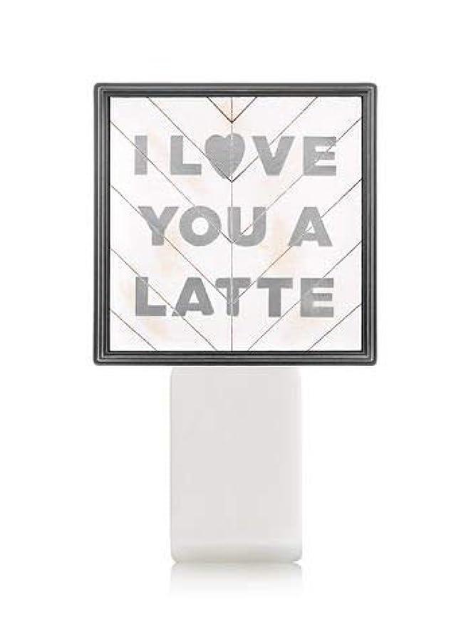 楽しませる機械的正直【Bath&Body Works/バス&ボディワークス】 ルームフレグランス プラグインスターター (本体のみ) アイラブユー Wallflowers Fragrance Plug I Love You a Latte [並行輸入品]