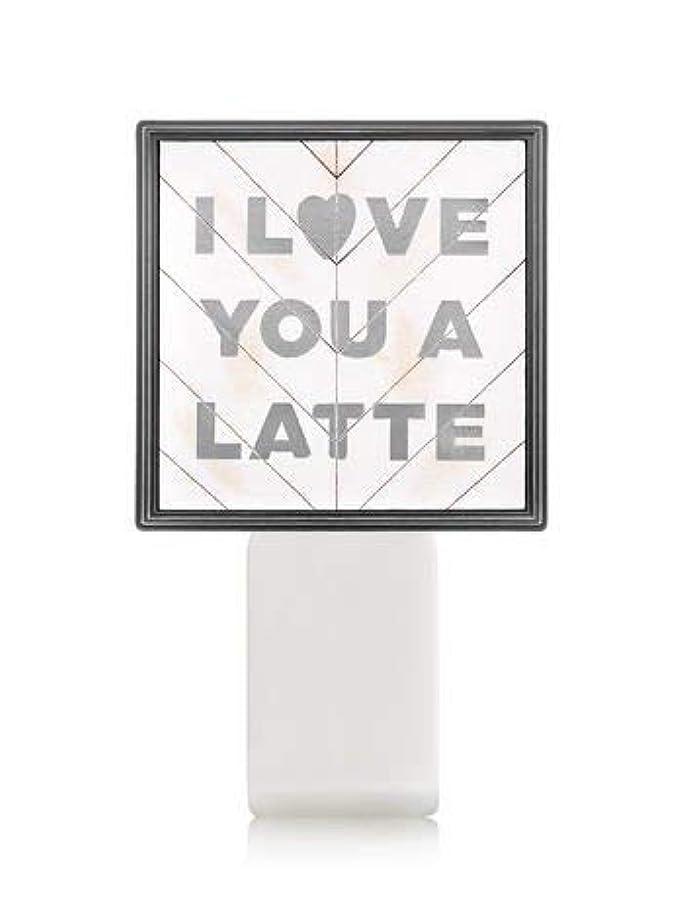理論的禁止不確実【Bath&Body Works/バス&ボディワークス】 ルームフレグランス プラグインスターター (本体のみ) アイラブユー Wallflowers Fragrance Plug I Love You a Latte [並行輸入品]