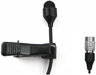 JK MIC-J 044 Lapel Microphone Lavalier Microphone Compatible With Audio Technica Bodypack Transmitter