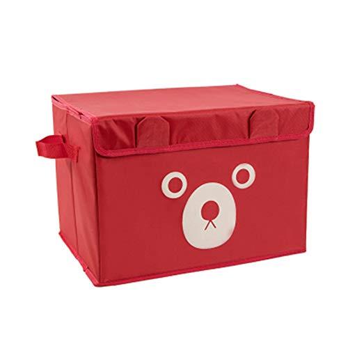 Caja De Almacenamiento Plegable HJBH, Caja De Almacenamiento para Niños con Tapa, Caja De Almacenamiento De Cubo Plegable, a Prueba De Polvo, Insípida, con Asa, para Almacenamiento Doméstico.