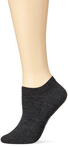 KUNERT Damen Wool Care Füßlinge, 100 DEN, Grau (Anthrazitmel. 4050), 35/38