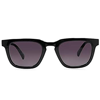 In Style Eyes Nordy Classic Non-Polarized Full Reader Sunglasses Black 3.25x