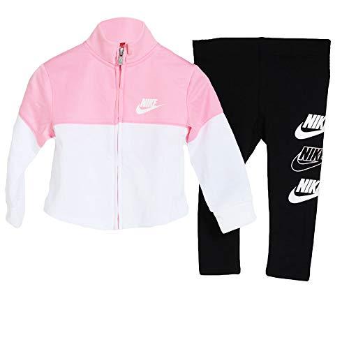 Nike Tuta da Neonata Hbr Tricot Rosa Taglia 12 M cod 16G763-023 - 9B
