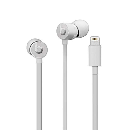 urBeats Wired Earphones With Lightning Connector - Tangle Free Cable, Magnetic Earbuds, Built In Mic And Controls - Satin Silver
