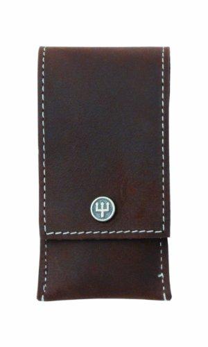 Wüsthof - TR9123 - Cuero Manicura Caso Brown - 3 Habitaciones