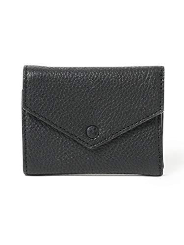 [ビームスライツ] 財布 レザーミニウォレット メンズ ブラック