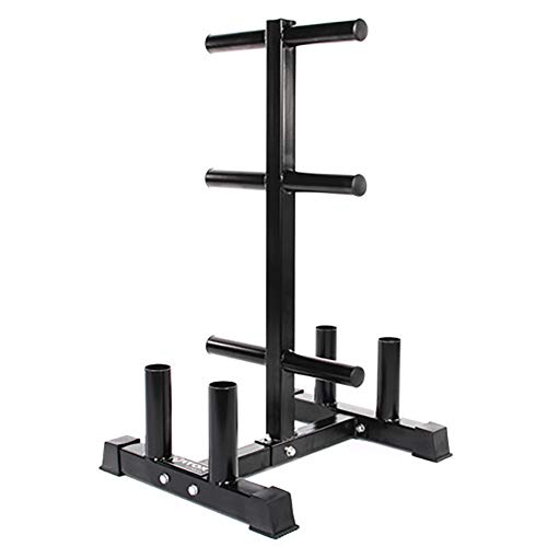 YYLL Lagerregale Austrian Bar/Hantel Blatt Storage Rack, Dual-Purpose Removable Storage-Stand, Vertikal Storage Rack for Sportgeräte (Color : Without Wheels)