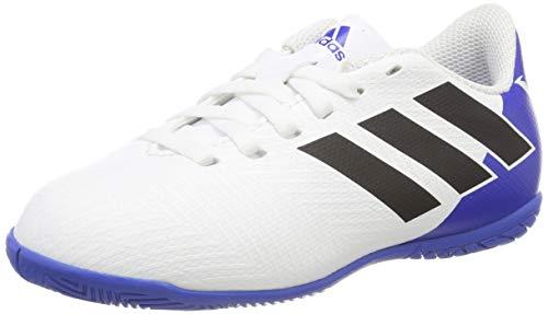 adidas Nemeziz Messi Tango 18.4 in, Zapatillas de fútbol Sala Unisex niño, Multicolor (Ftwbla/Negbás/Fooblu 000), 28 EU