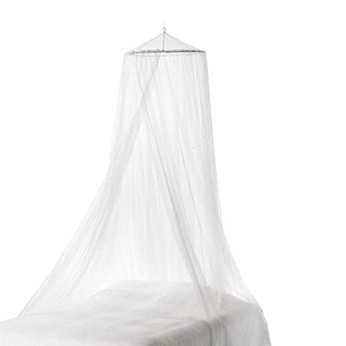 1pc Quick Easy Installation Large Mosquito Mesh NetHanging Canopy Netting Universal White Dome Mosquito Net For All Size Bed