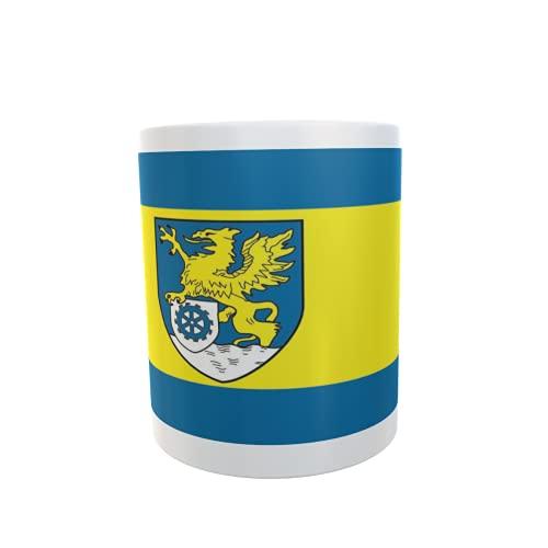 U24 Tasse Kaffeebecher Mug Cup Flagge Hiddenhausen