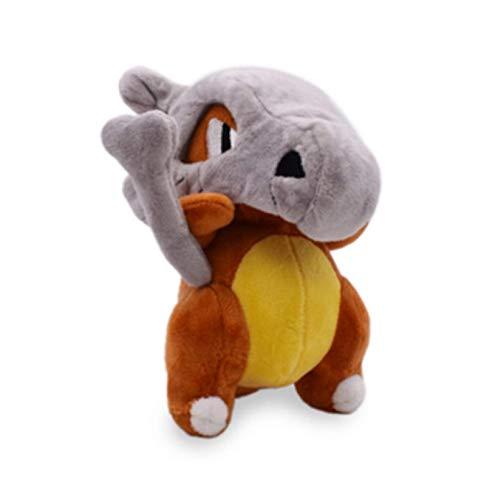 WEICHUANG Pokemon Karakara Muñecos De Peluche De 17 Cm, Calavera Desmontable Karakara Decoración Fresca Muñeca Juguete Niños Regalo