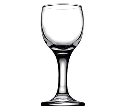 Bistro Cordial & Liqueur Extra Mini Glasses 2 oz (60 cc) - Set of 6