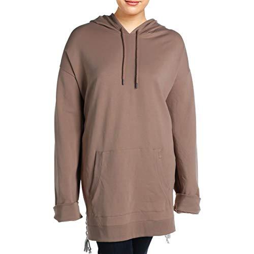 Fenty Puma by Rihanna Womens BH4007929 Sweatshirt Fitness Hoodie Beige XL