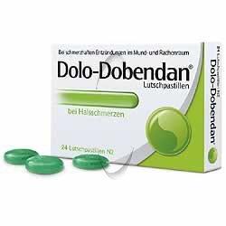 Dolo-Dobendan Lutschpastillen 24Stk (PZN 3714237)