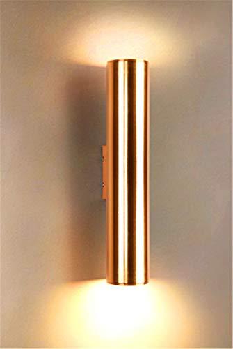 XHLLX Lámpara De Pared para Interiores, Lámpara Pared LED Moderna, Lámpara Pared LED De 3W, Lámpara Pared De Aluminio para Interiores, Lámpara De Pared para Pasillo, Dormitorio, Sala De Estar