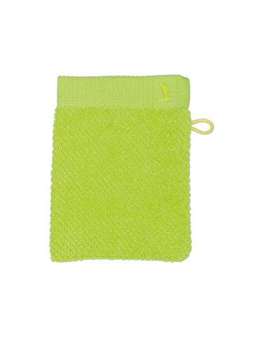 möve New Essential gant de lavage 15 x 20 cm en 100% coton, apple
