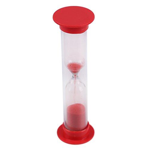 REFURBISHHOUSE Sablier magnon en Plastique de 1 Minute Rouge